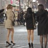 Photo of the Day: Girls Hailing Cab in NYC