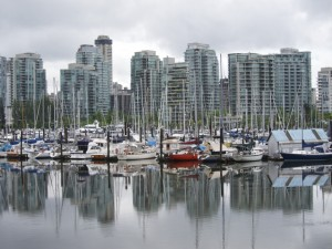 Boats & Buildings from Stanley Park, Vancouver