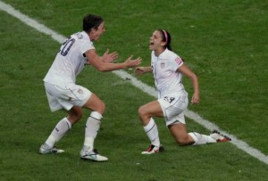 Alex Morgan and Abby Wombach, World Cup 2011