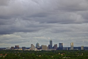 View of Downtown Austin from Mt. Bonnell