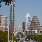 Texas Capitol from South Congress Ave.