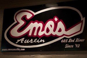 Emo's in Austin on Red River St.