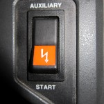 RV Auxiliary Start Button