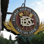 Bozeman Brewing Company Sign