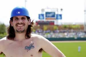 Ryan at L.A. Dodgers Stadium