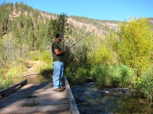 Fly Fishing at Rock Creek, Montana