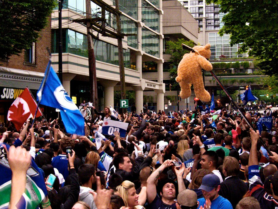 Vancouver Stanley Cup Celebration
