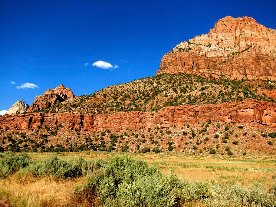 Zion National Park in Springdale, Utah