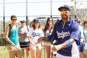 Matt Kemp at Dodgers Spring Training 2012